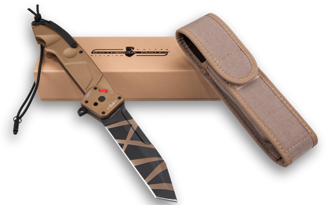 Extrema Ratio HF2TDW Tanto Point Folder - Desert Warfare