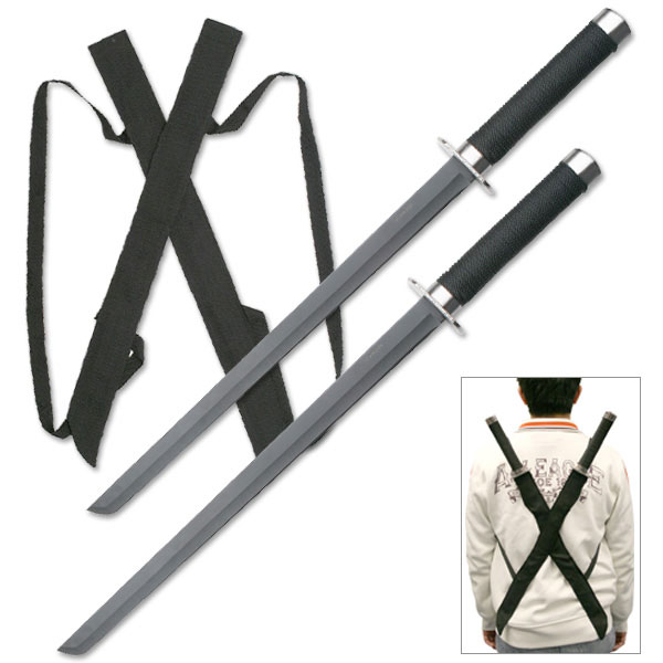 Master HK1456 Ninja Double Swords (Online Only)