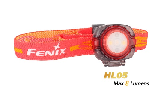 Fenix HL05 Ultralight Headlamp - Red