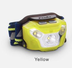 Fenix HL26R Lightweight Rechargeable Headlamp - Yellow