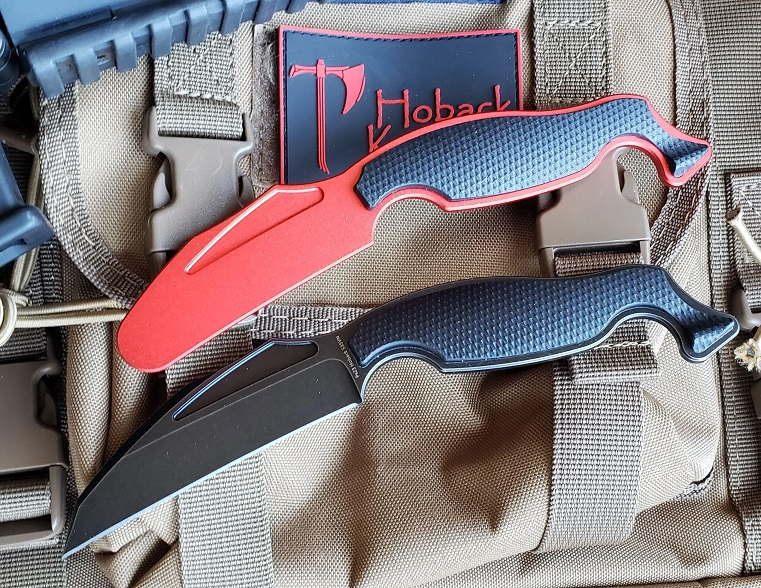 Hoback Talim Combatives S35VN Fixed Blade System G-10, Blade & Trainer