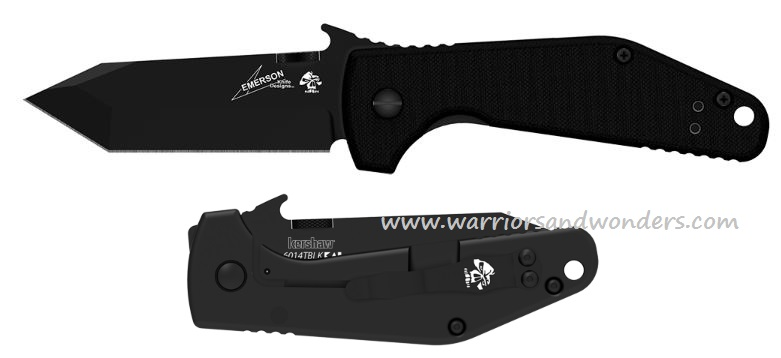 Kershaw 6014TBLK CQC-3K w/Emerson Wave Opening