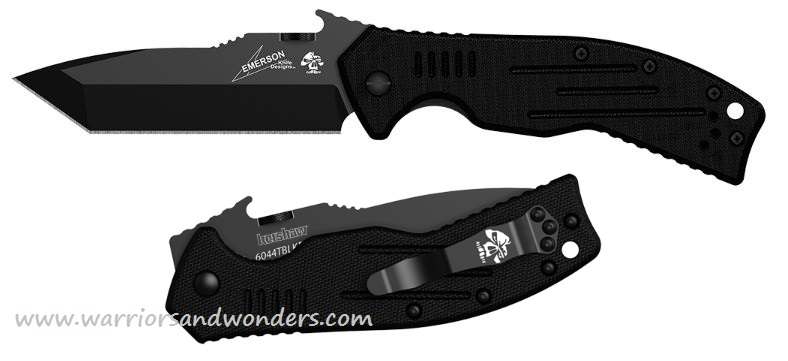 Kershaw 6044TBLK CQC8K w/Emerson Wave Opening