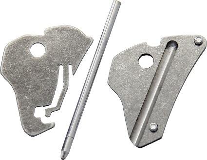 KeyBar Titanium Comb 2.0 Insert for KeyBar MultiTool KBR417
