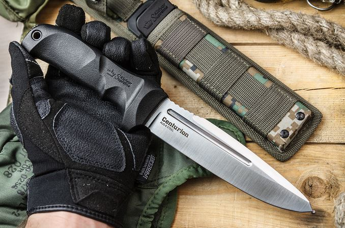 Kizlyar KK0033 Centurion Tactical Knife with MOLLE Sheath