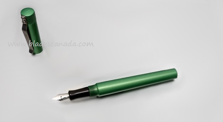 Karas Kustoms Fountain K Aluminum - Green Body/Black Grip