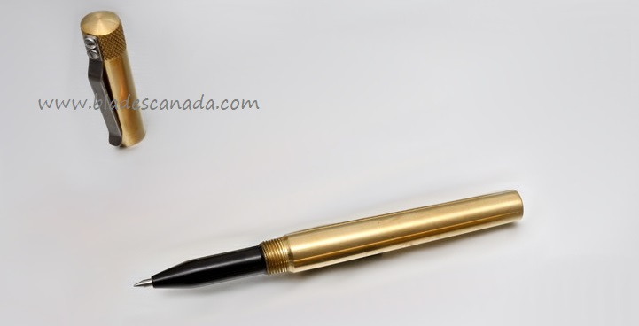 Karas Kustoms Render K Brass - Black Grip