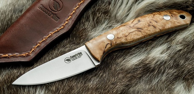 Casstrom KS10618 Safari - Sandvik Steel Curly Birch Handle