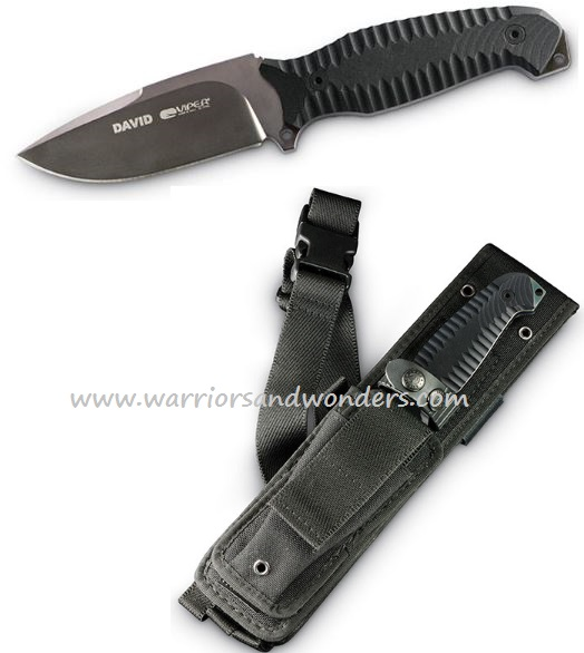 Viper V4002CNN David-Fixed Blade Viperskin Sheath (Online Only)