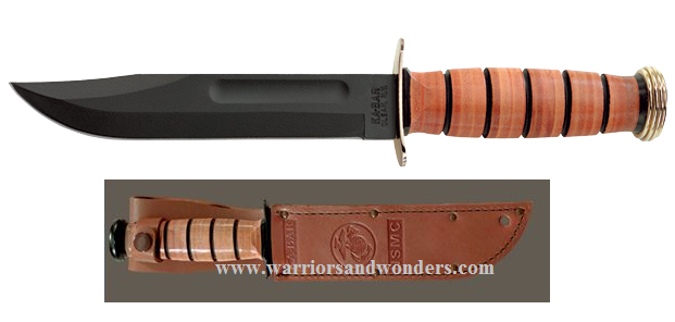 Ka-Bar 1215 USMC Presentation Knife