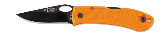 Ka-Bar 4065BO Dozier Folding Knife, Blaze Orange (Online Only)