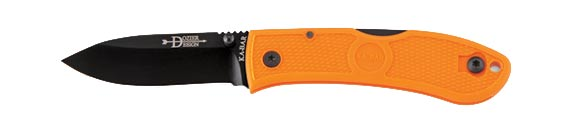 Ka-Bar 4072BO Mini Dozier Folding Hunter Orange (Online Only)