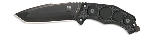 X- Ka-Bar Fin D2 Tanto Straight Edge