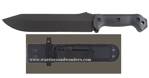 "Ka-Bar BK9 Becker 9"" Combat Bowie w/Cordura Sheath"