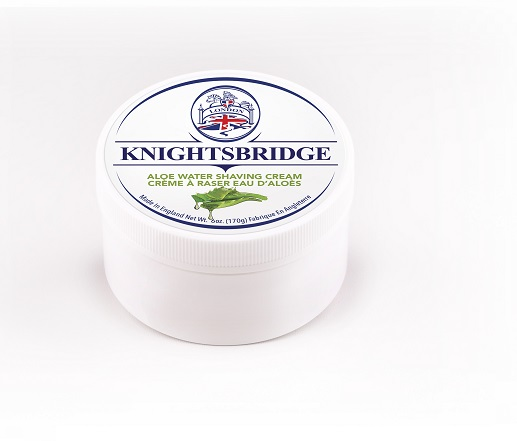 Knightsbridge Premium Shaving Cream - Aloe Water