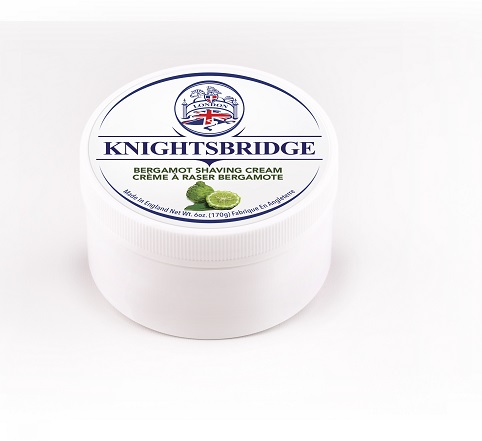 Knightsbridge Premium Shaving Cream - Bergamot Citrus