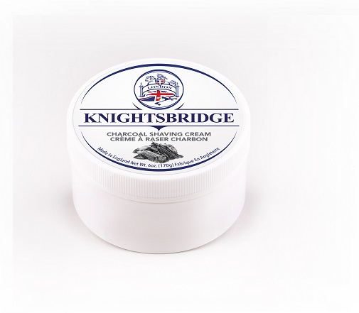 Knightsbridge Premium Shaving Cream - Charcoal