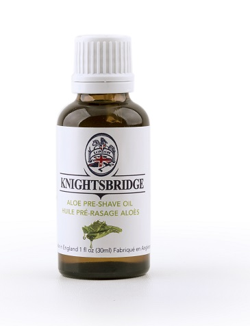 Knightsbridge Premium Pre Shave Oil - Aloe Water