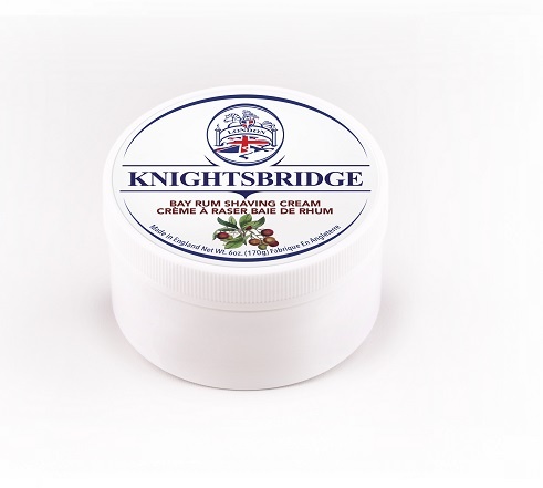 Knightsbridge Premium Shaving Cream - Bay Rum