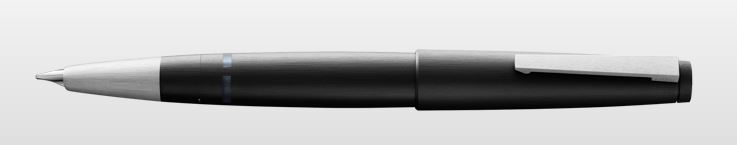 Lamy 2000 Fountain Pen 14Kt Fine Nib - Matte Black