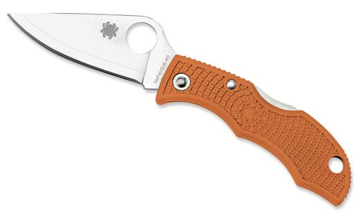 Spyderco Ladybug HAP40 Sprint Run Orange FRN LBORP3E