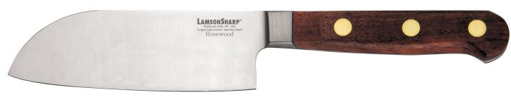 "Lamson Rosewood Forged 5"" Santoku (Online Only)"