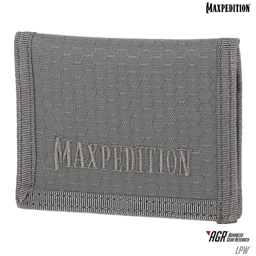 Maxpedition AGR LPW Low Profile Wallet - Gray