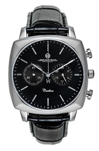 Melbourne Carlton Chronograph - Black