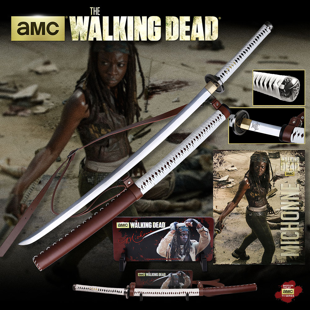The Walking Dead WD001WS Michonne's Sword w/ Wall Mount (Online)