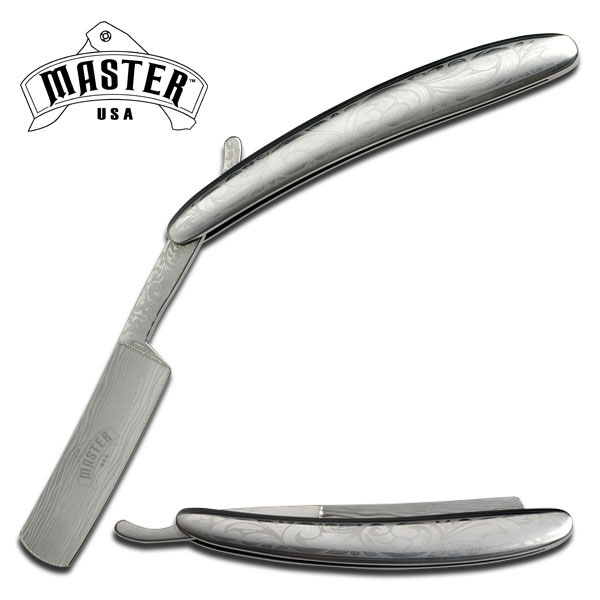 MC MU1014SS Barber's Straight Razor Knife (Online Only)