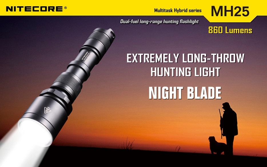 Nitecore MH25 Hybrid Night Blade 960 Lumens - Click Image to Close