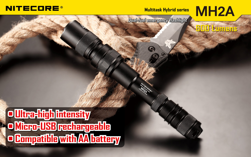 Nitecore MH2A Flashlight 600 Lumens