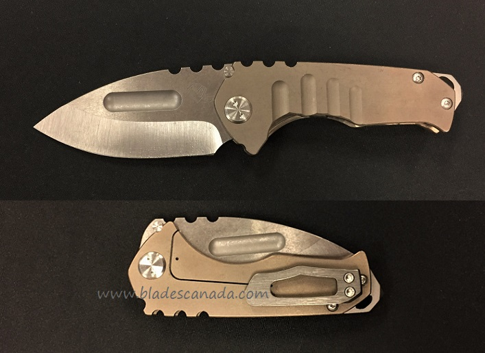 Medford Praetorian Genesis T Tumble Drop Point - Bronze Titanium