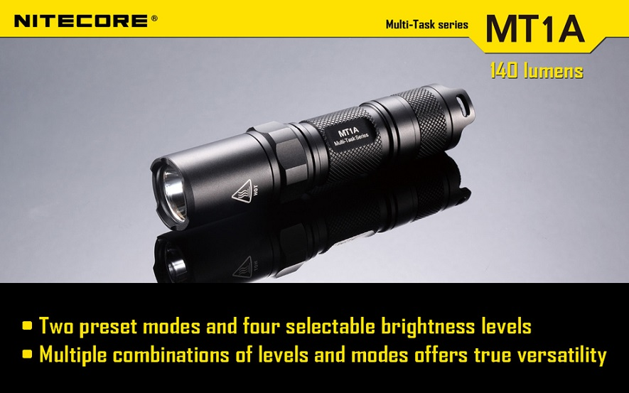 Nitecore MT1A Flashlight 140 Lumens