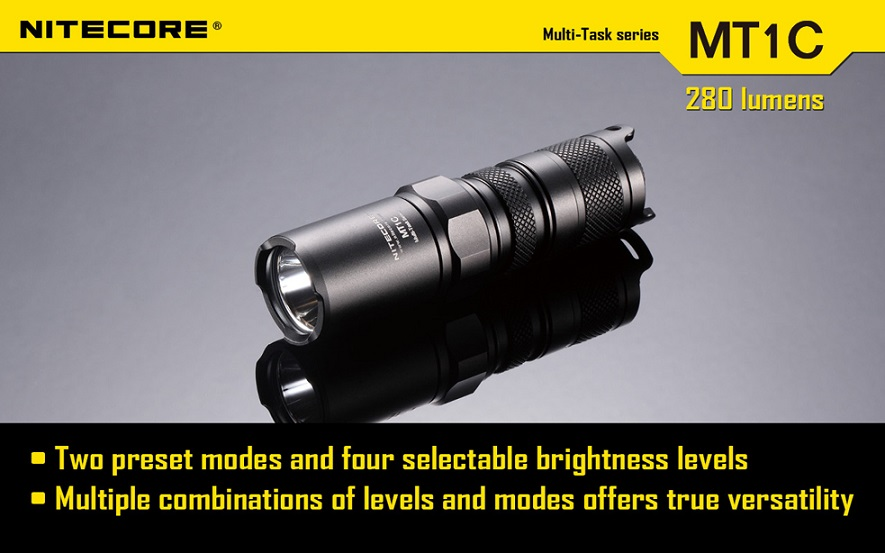 Nitecore MT1C Flashlight 345 Lumens