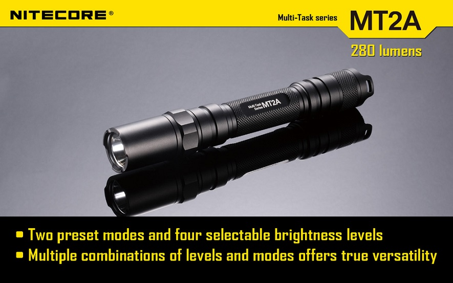 Nitecore MT2A Flashlight 280 Lumens