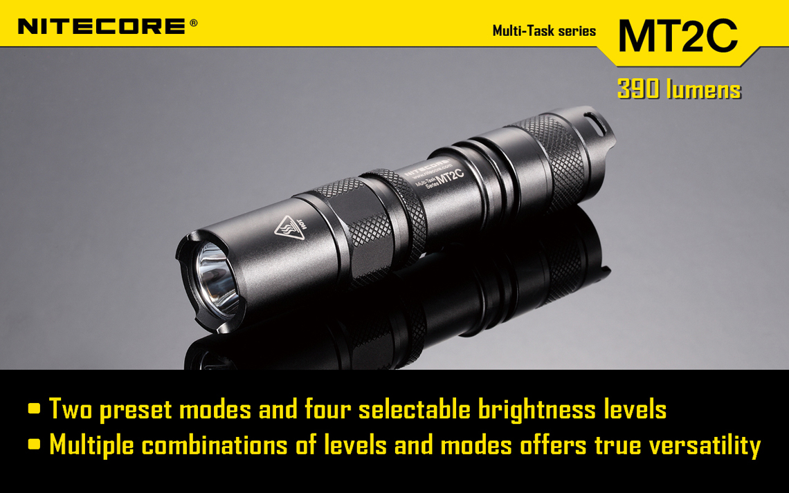 Nitecore MT2C Flashlight 390 Lumens