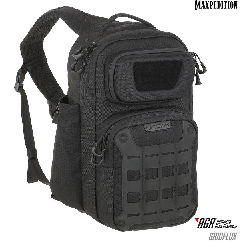 Maxpedition AGR GRIDFLUX Slingpack - Black