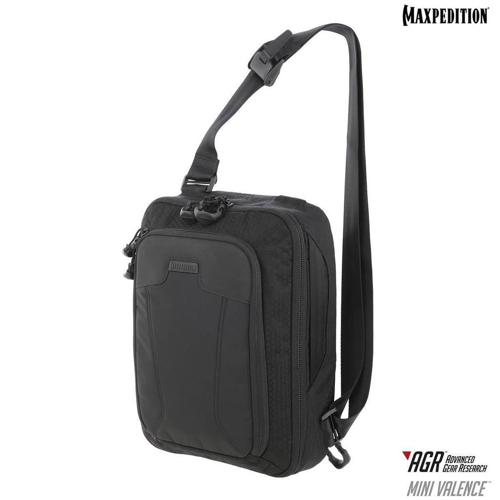 Maxpedition AGR Mini Valence Tech Sling Pack 7L- Black