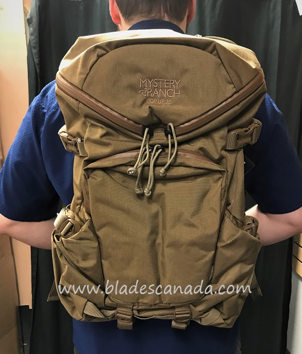 Mystery Ranch Pop Up 28L Backpack - Coyote - Large