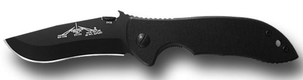 "Emerson Mini Commander-BT Black Plain Edge ""Wave"""