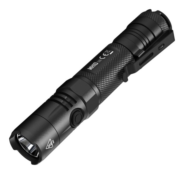 Nitecore MH10 V2 USB Rechargeable Hybrid Flashlight - 1200 Lumens