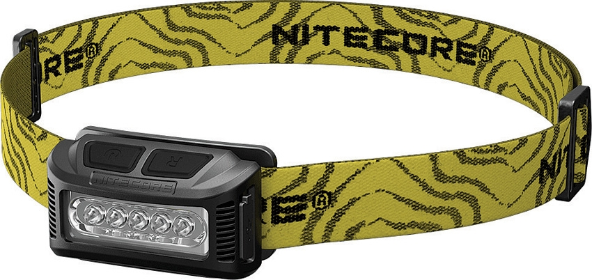 Nitecore NU10BK Rechageable Headlamp w/ Red Light- 160 Lumens