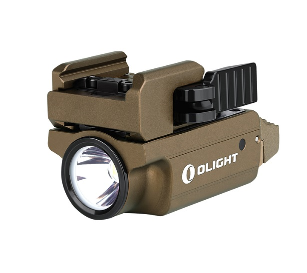 Olight PL-Mini 2 Weaponlight Desert Tan - 600 Lumens