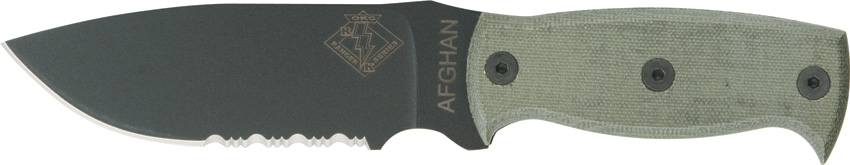 OKC 9419BMS Ranger Series Afghan Knife Partially Serrated