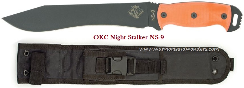 OKC 9422OG Ranger Night Stalker 9 - Orange G-10