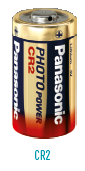 Panasonic CR2 Lithium Battery - 2 Pack