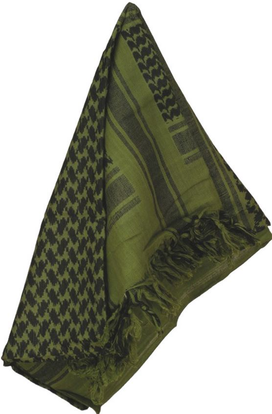 Camcon 61030 Shemagh - Olive & Black