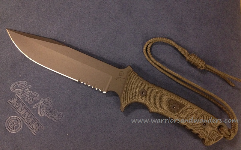 Chris Reeve Pacific Serrated