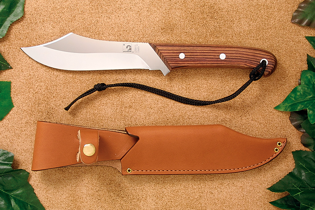 Grohmann R108 Deer and Moose Stainless - Rosewood